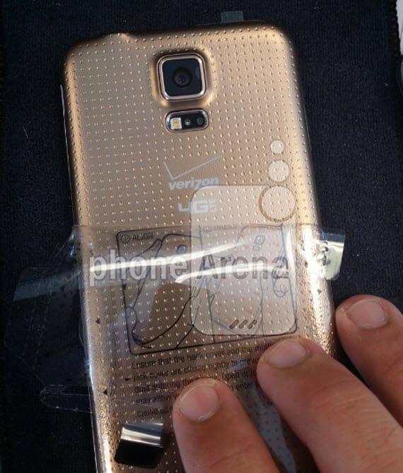 Samsung Galaxy S5 Verizon Gold