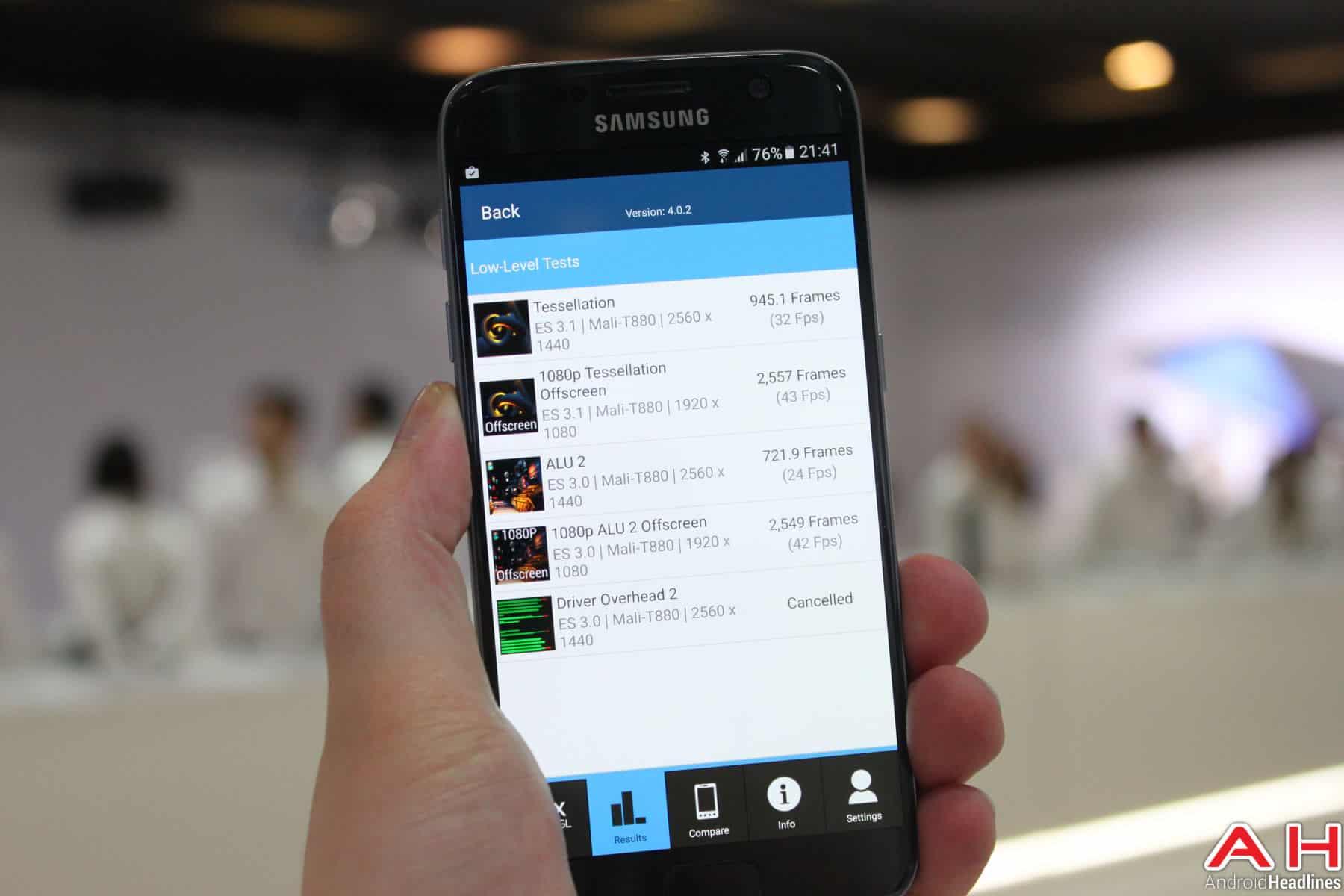 Samsung Galaxy S7 Benchmark GFX 4