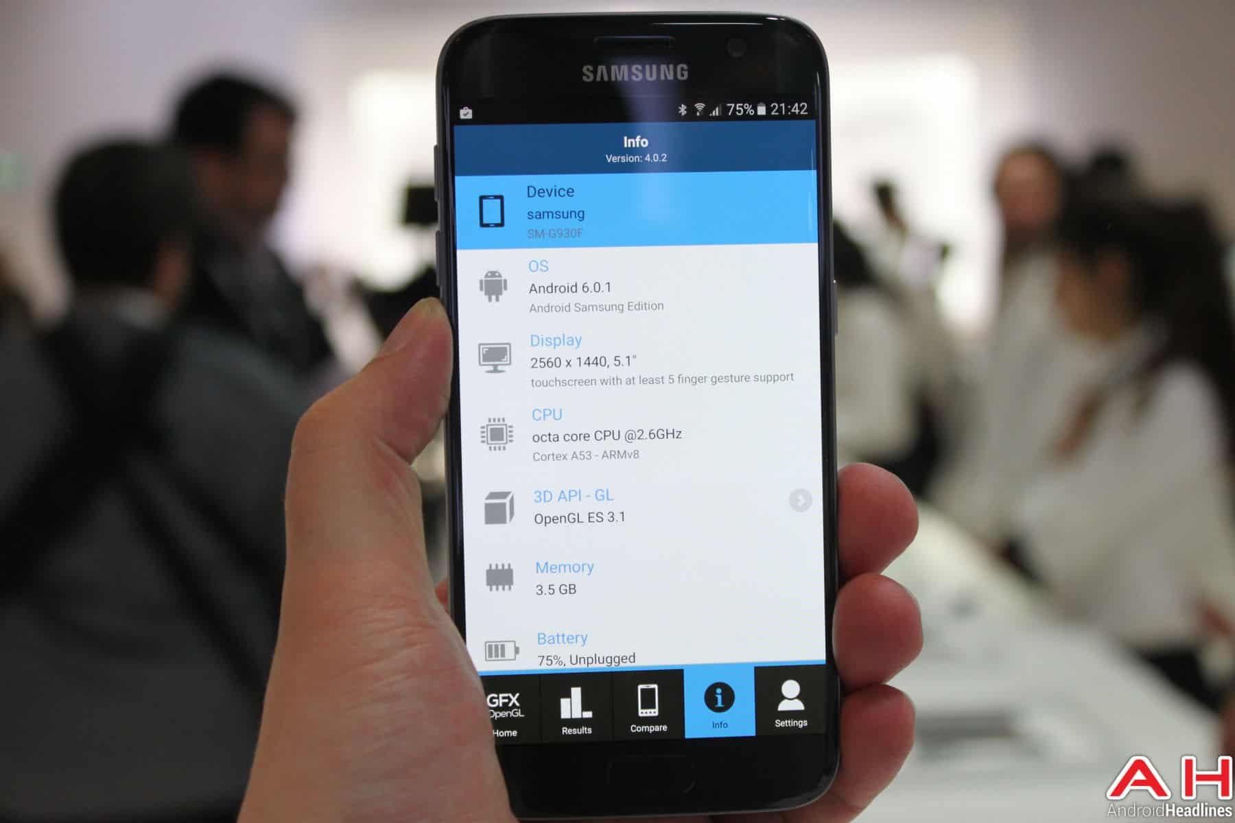 Samsung Galaxy S7 Benchmark GFX 5