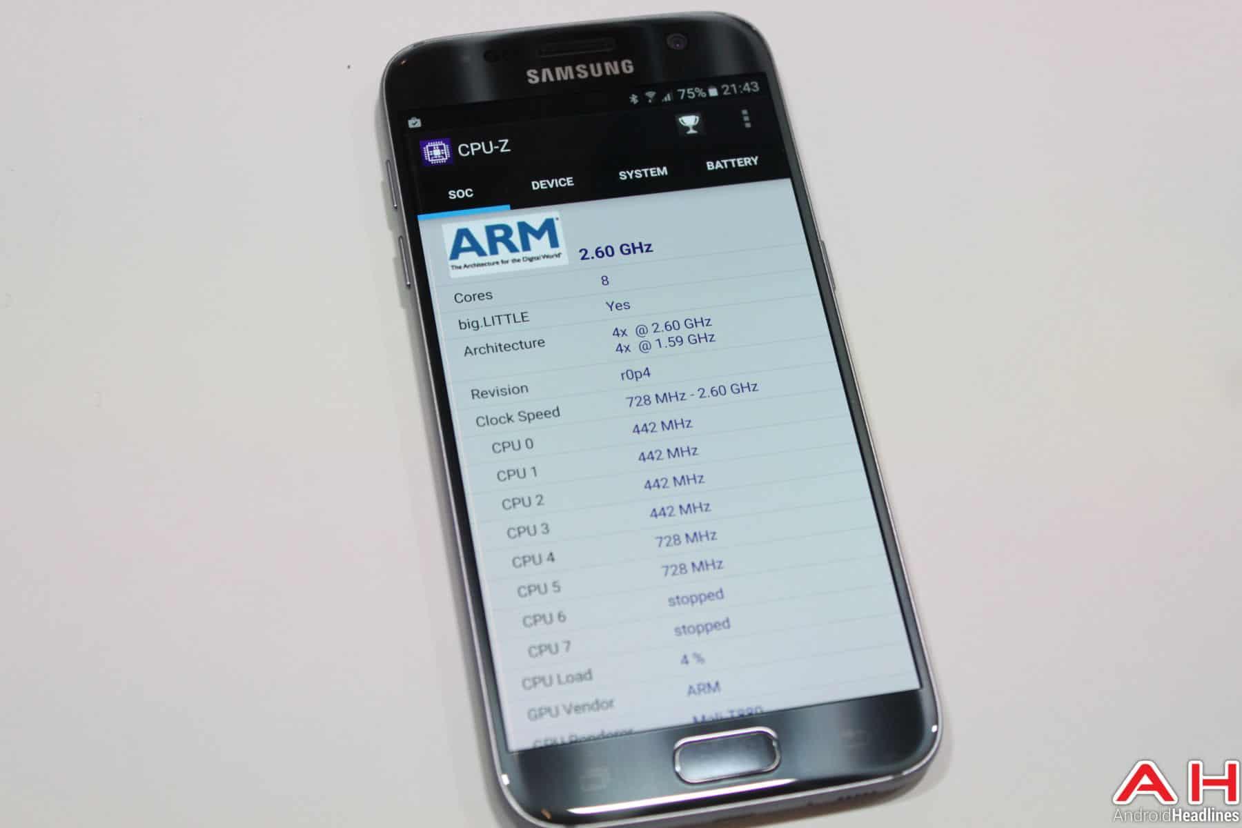 Samsung Galaxy S7 Benchmark GFX 7