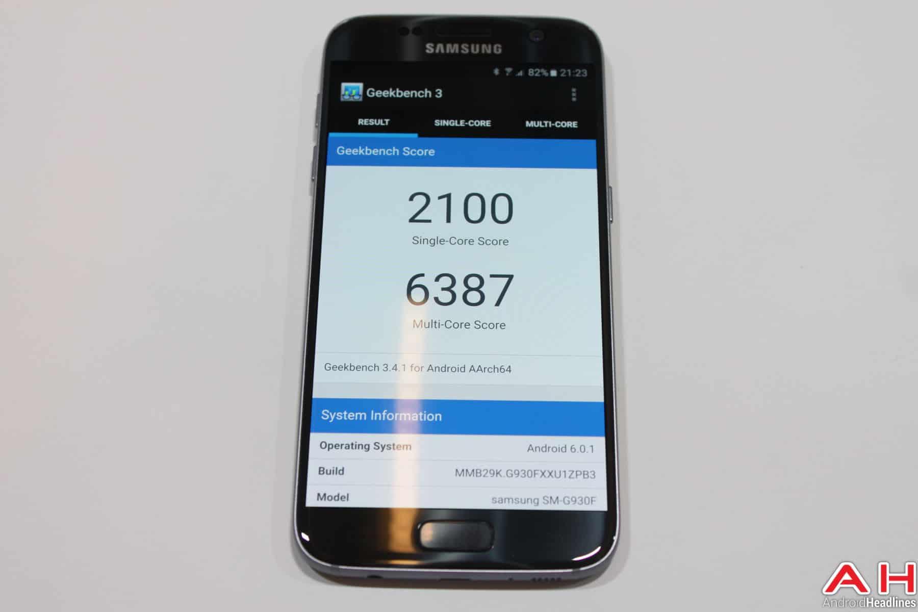 Samsung Galaxy S7 Benchmark Geekbench 1