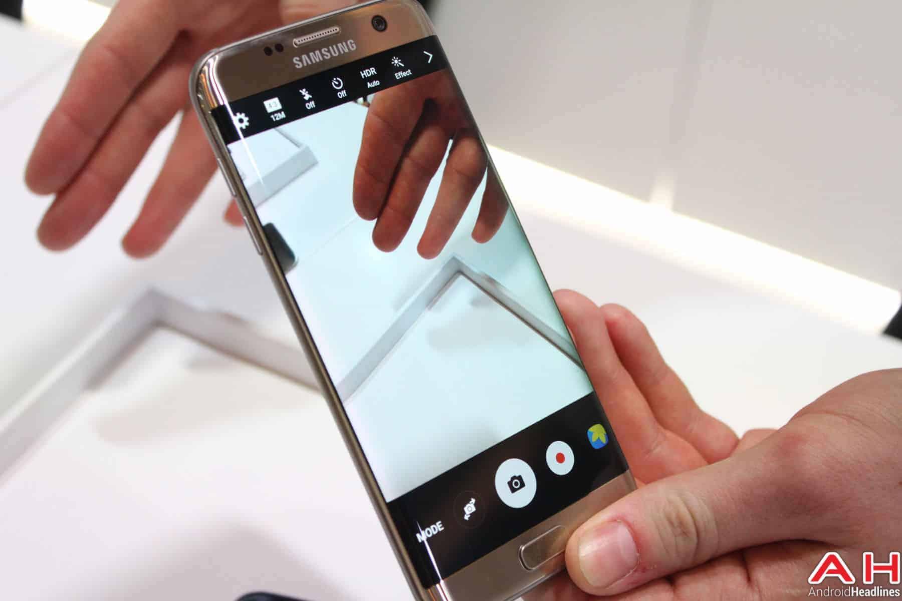Samsung Galaxy S7 Edge Camera UI AH 2