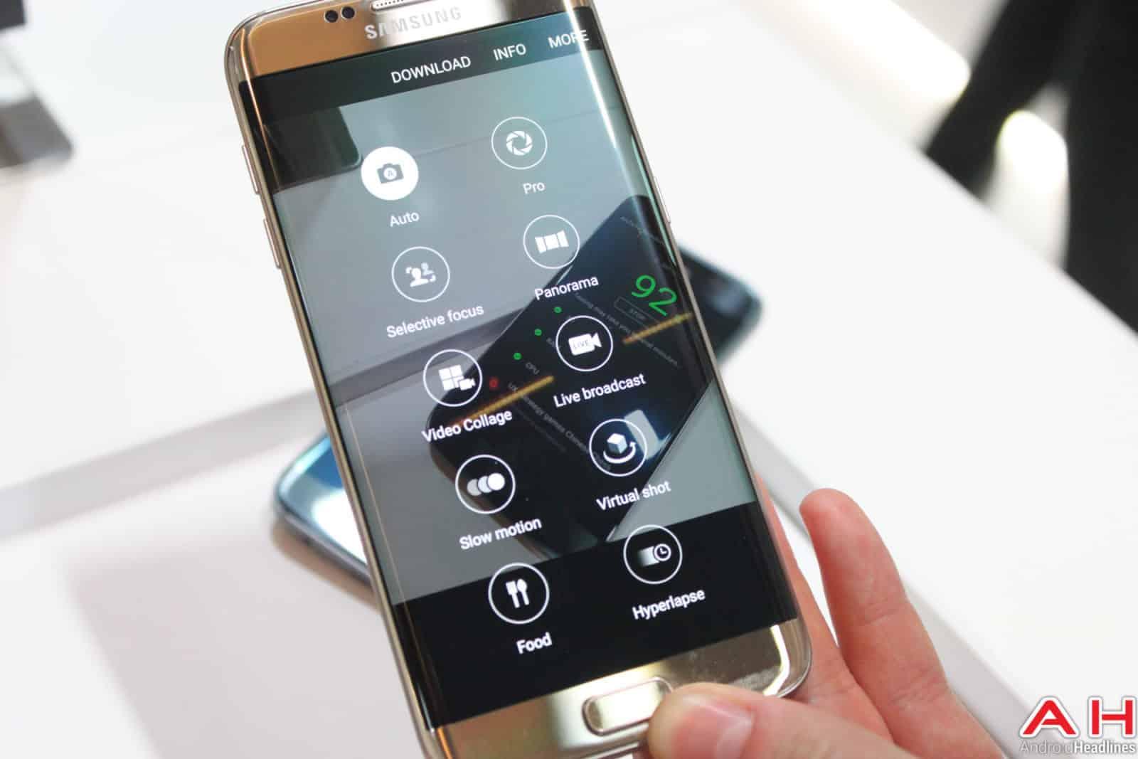 Samsung Galaxy S7 Edge Camera UI AH-4