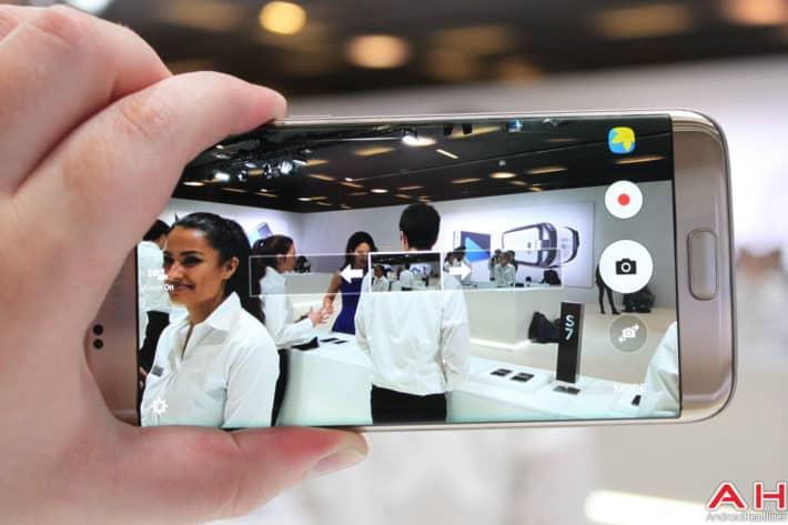 Samsung Galaxy S7 Edge Camera UI AH-7