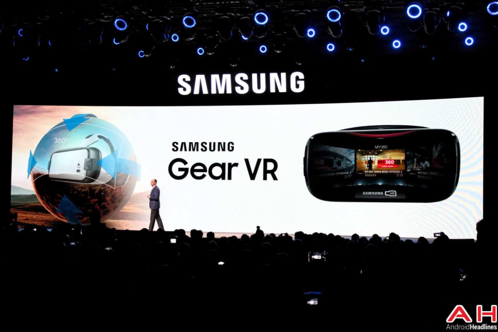 Samsung Gear VR CES AH-1