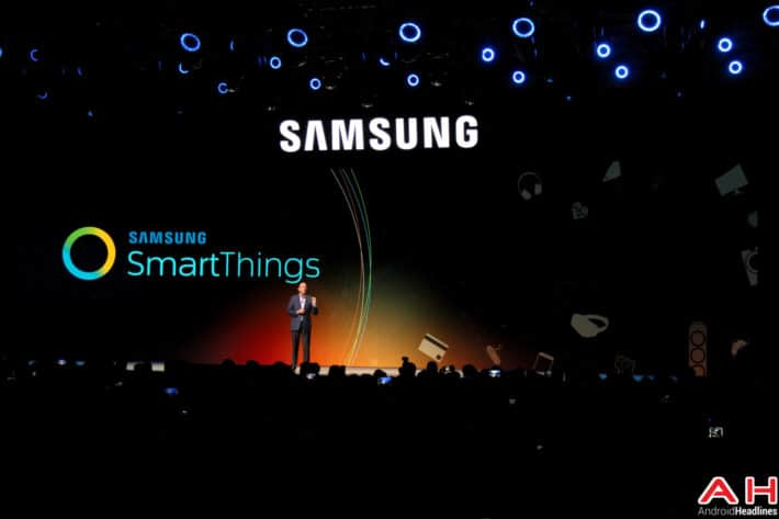 Samsung SmartThings CES AH 1