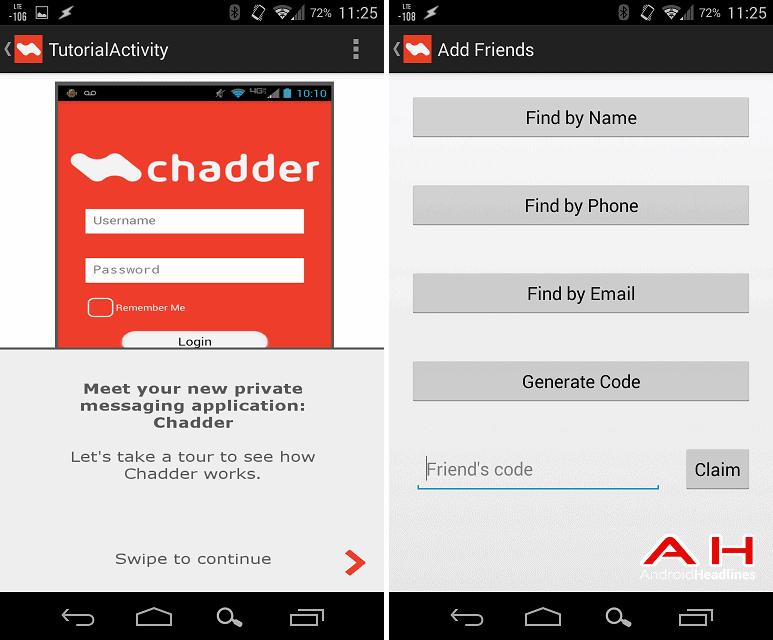 chadder app AH