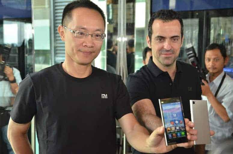Xiaomi Mi 3 Press Shot