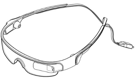 samsung gear blink patent