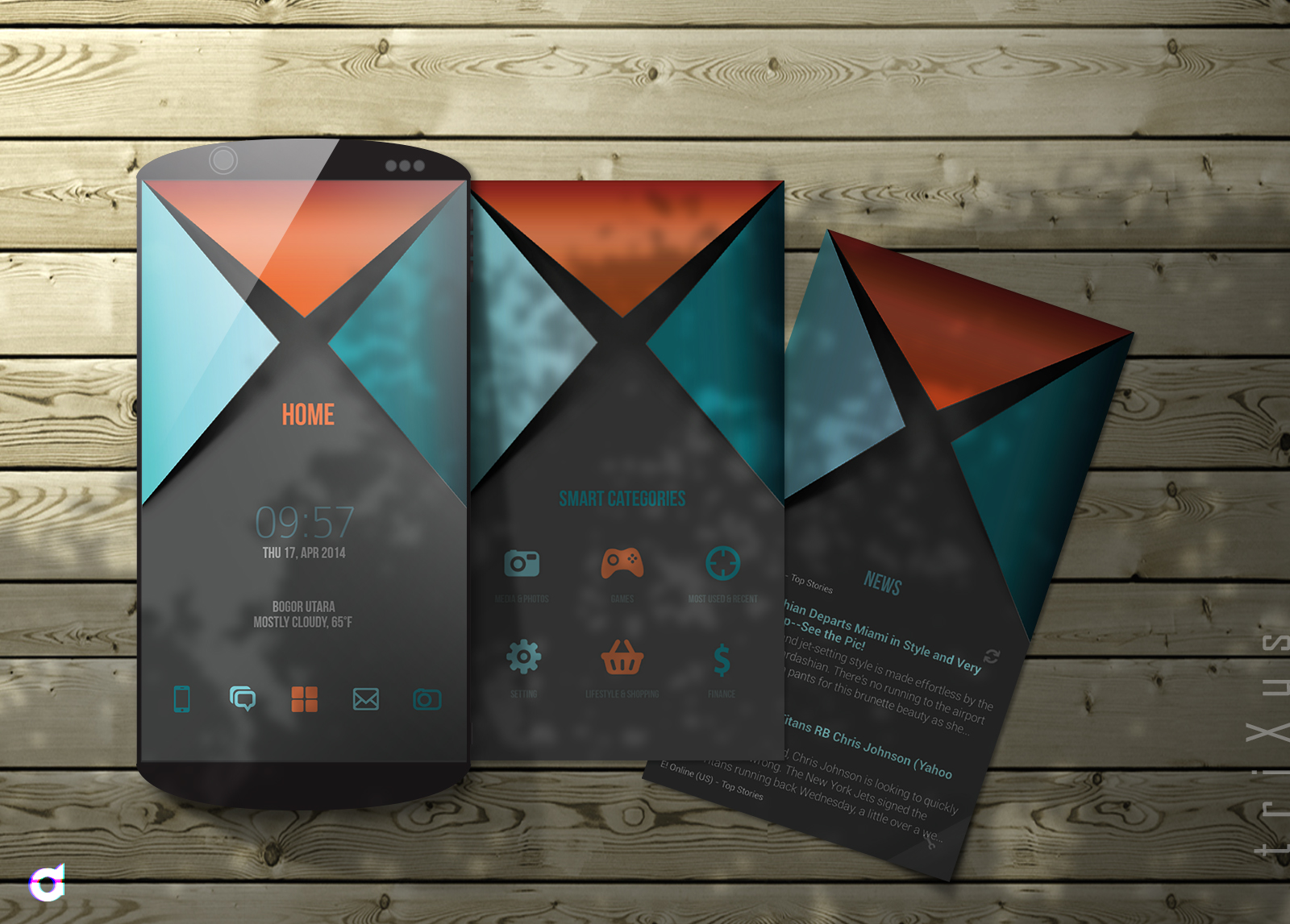 Top 5 Custom Android Homescreens Monthly : May 2014 Edition ...