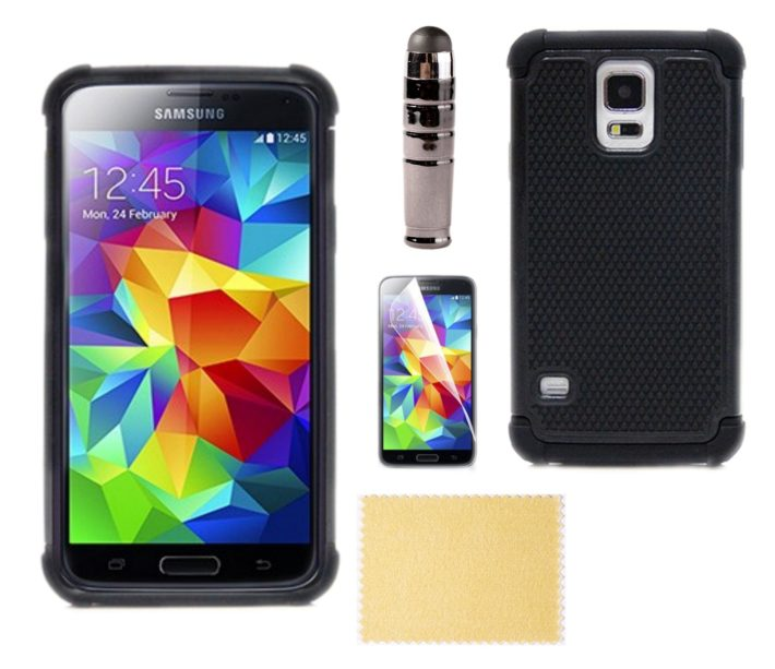 Deal: Samsung Galaxy S5 Dual-Layer Hybrid Case for $1.97