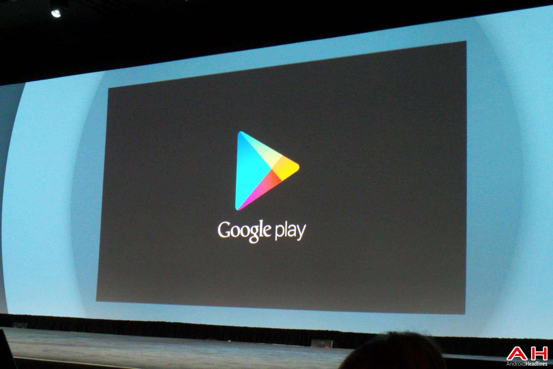 AH Google IO 2014  (3 of 4) Google Play Store 1