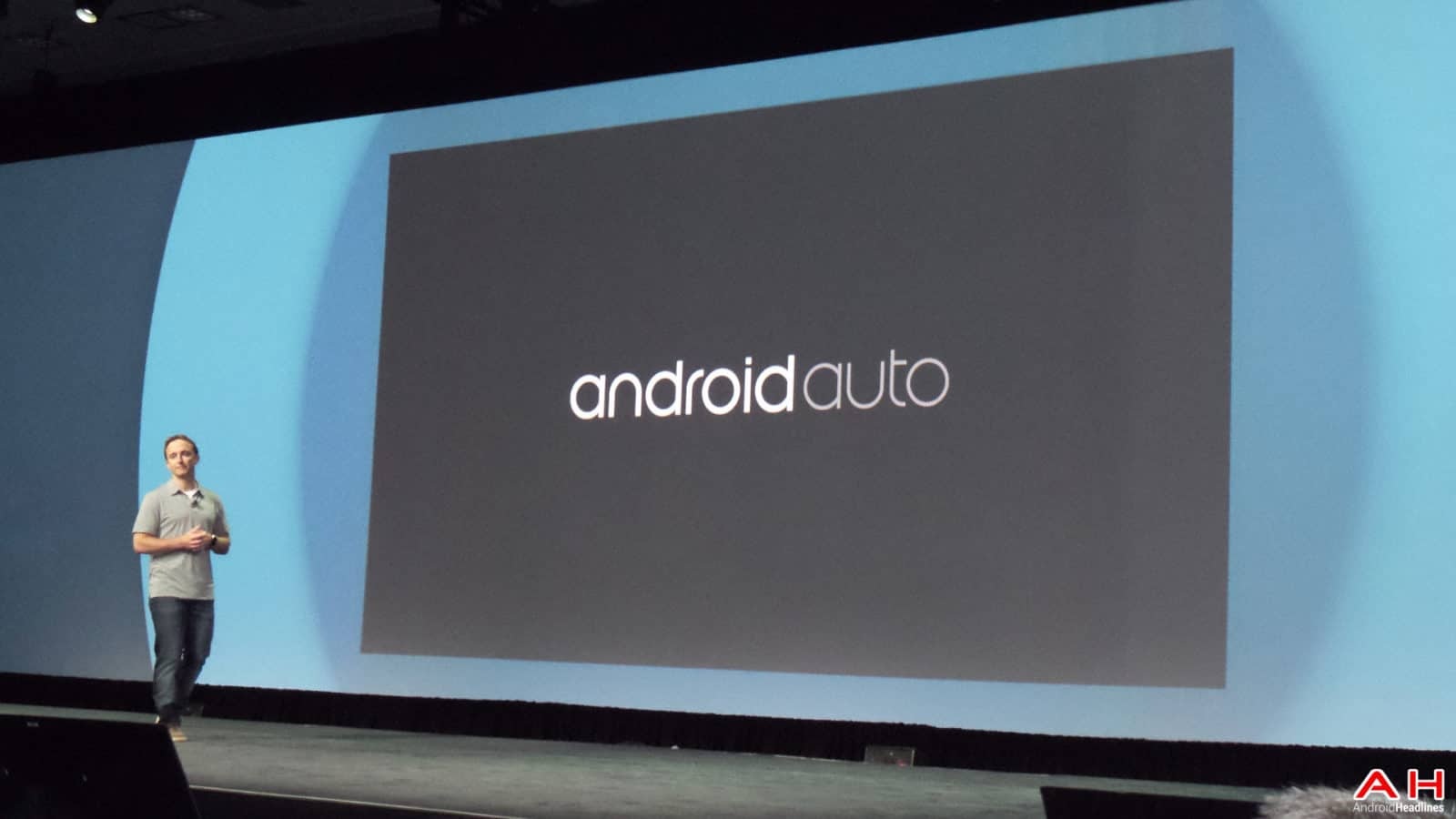 AH Google IO 2014 (311 of 18) Android Auto Logo
