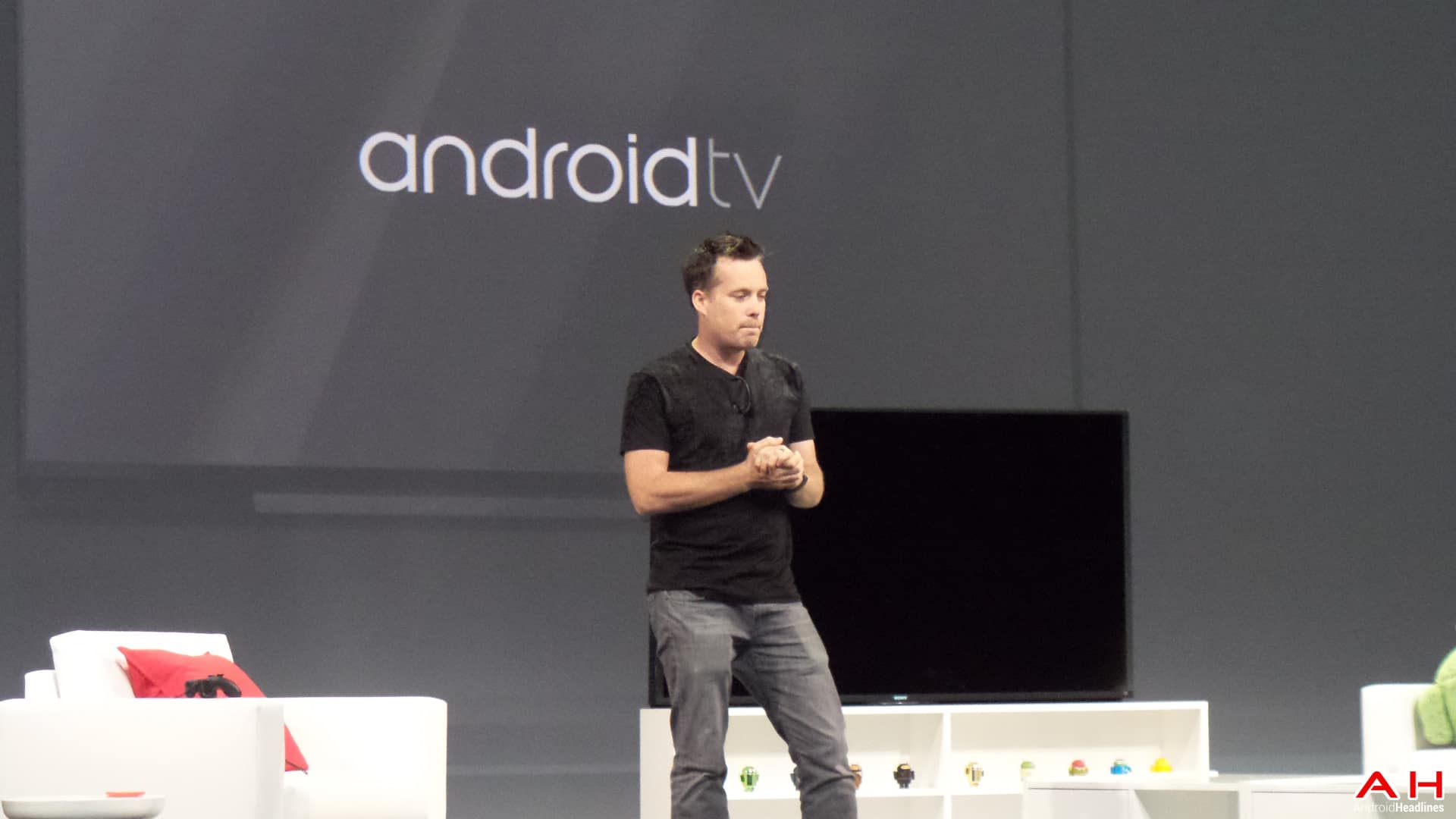 AH Google IO 2014 407 of 9 android TV logo