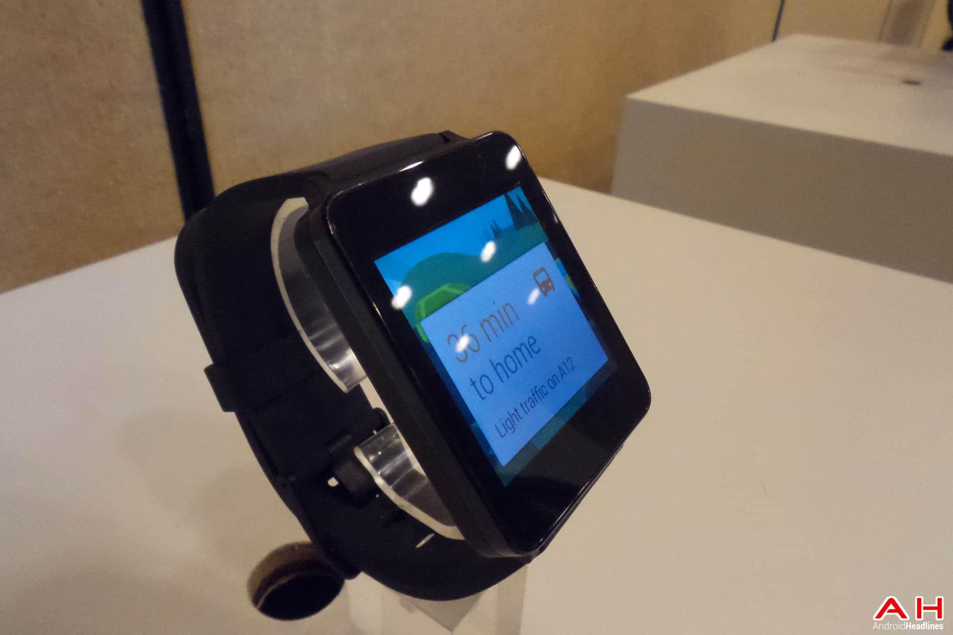 AH Google IO 2014 LG G Watch 1 of 10