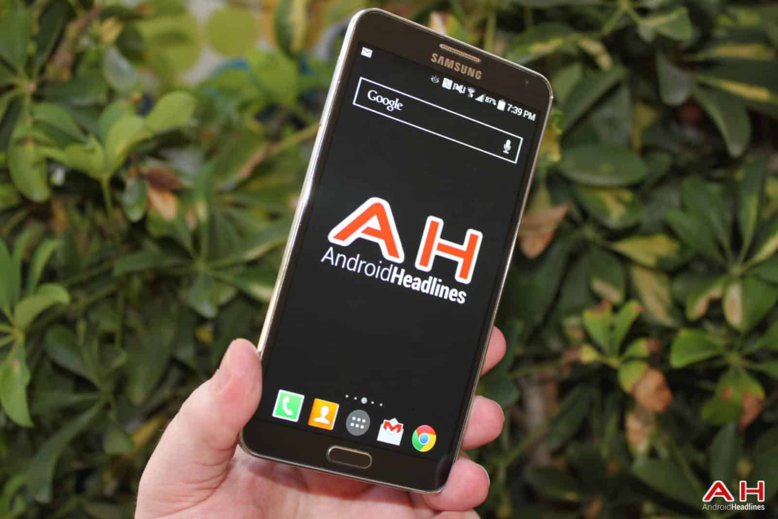 AH Logo Samsung Note 3