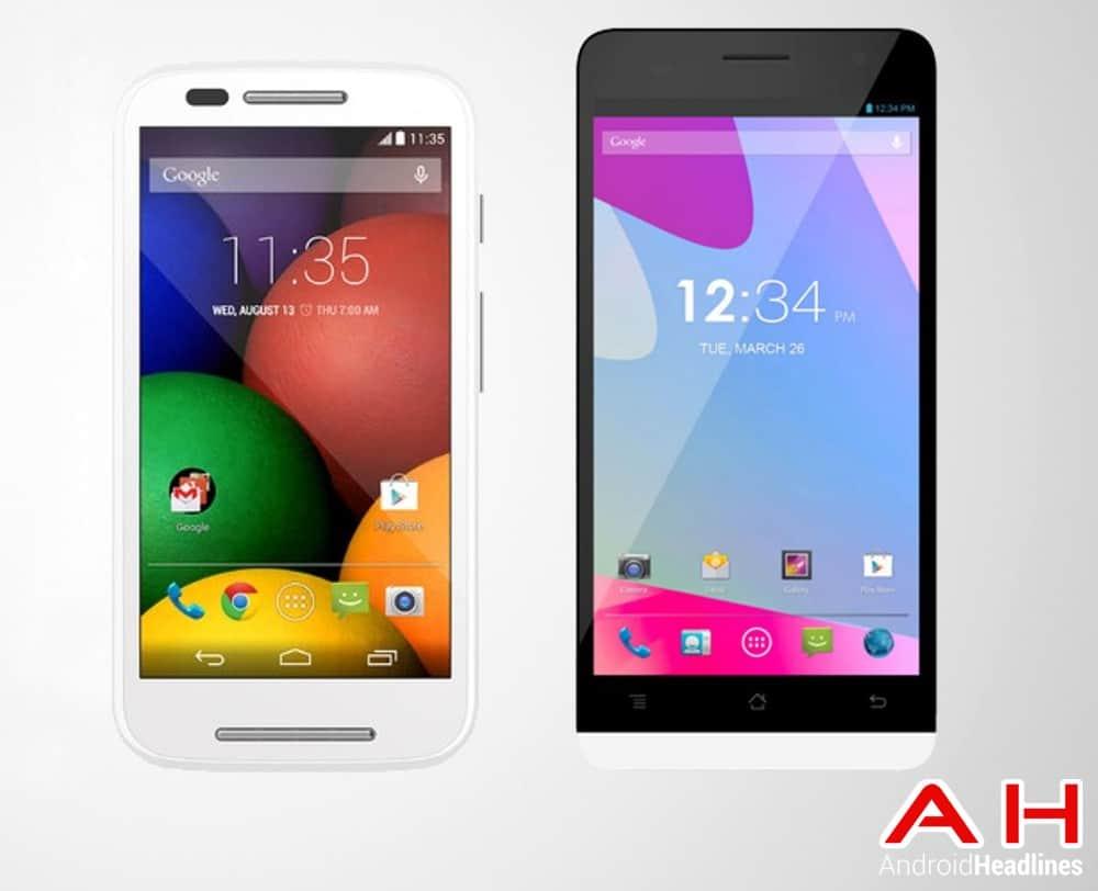 AH Moto E vs Blu Studio 5.0 LTE