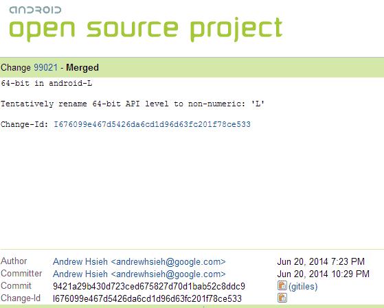AOSP-Commit-99021