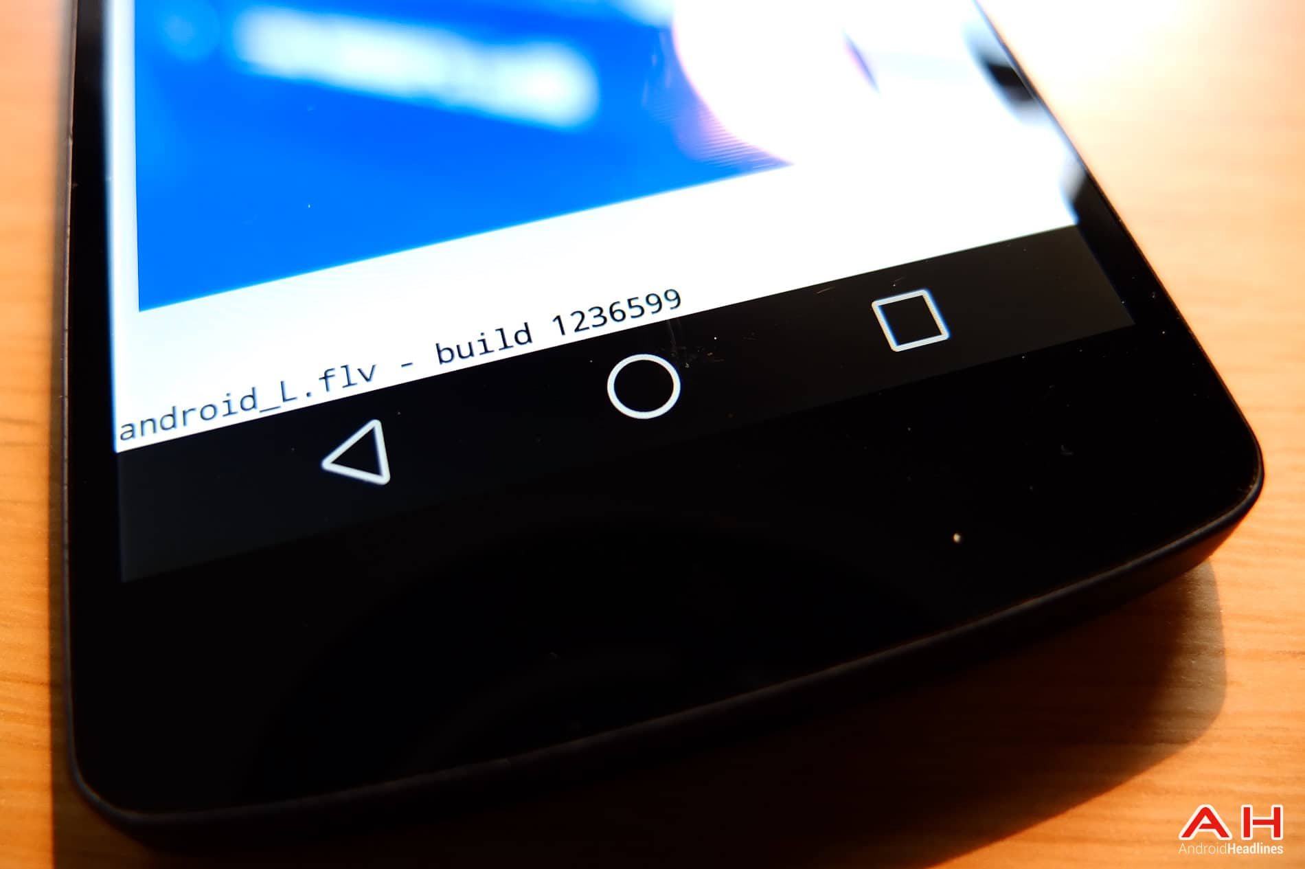 Android L AH-9 Keys navigation