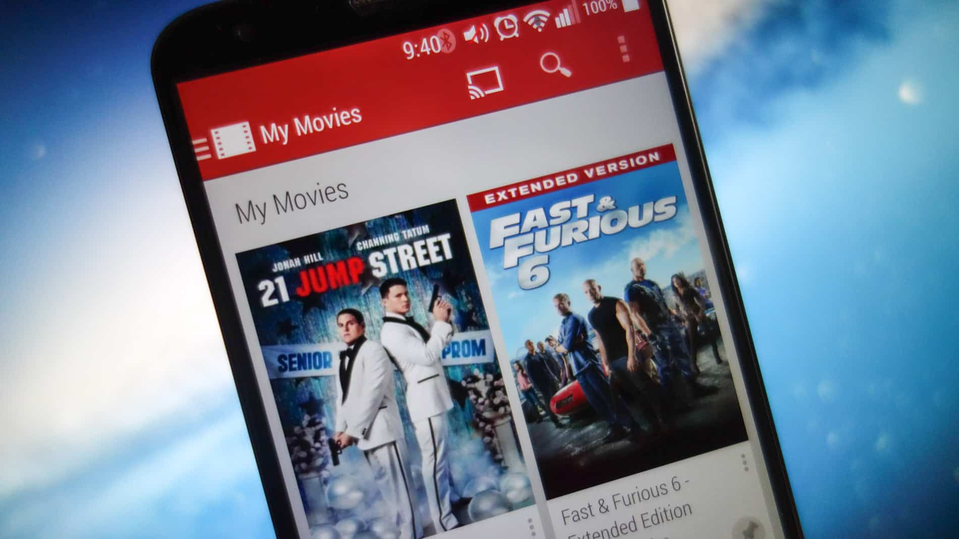 Google Play Movies TV AH 2