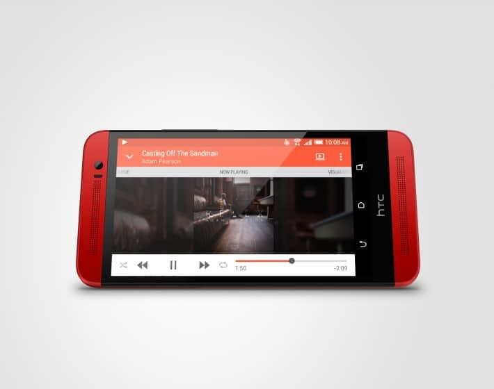 HTC One E8 04