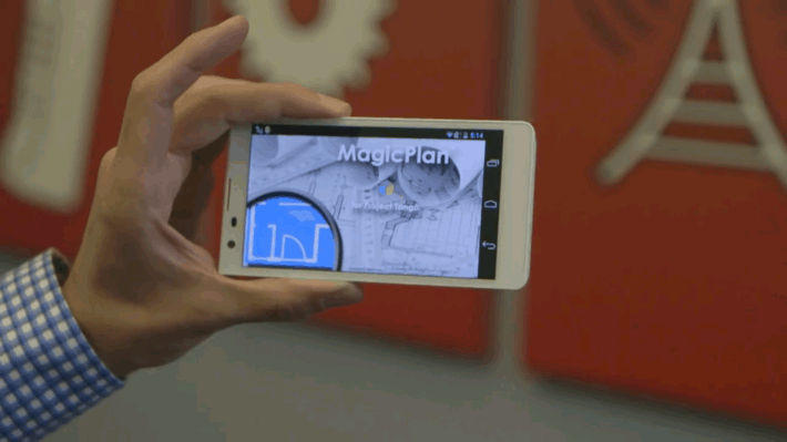 Sensopia Teaming Up With Google's Project Tango to Improve Interior Mapping App, MagicPlan
