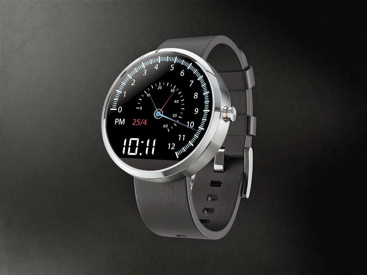 Moto 360 Product Template SPEEDO