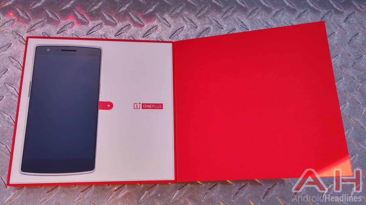 OnePlus One Box Inside Phone