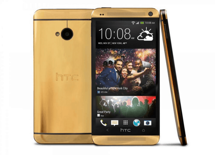 HTC Giving away an One Made of 24 Carat Gold