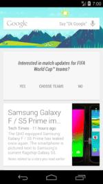Cyanogenmod 11 Google Now Setup 6