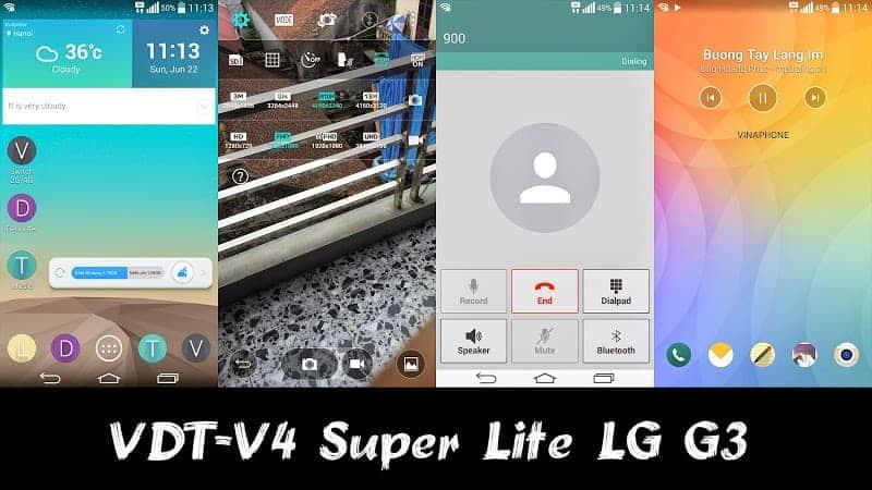 VDT-V4 Super Lite LG G3