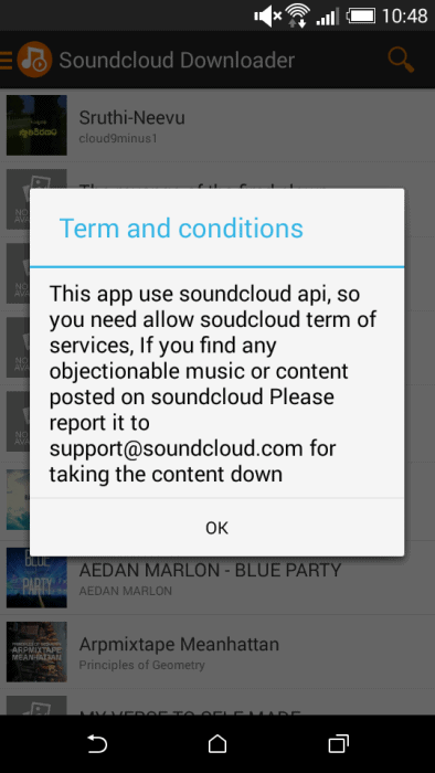 how to download any song from soundcloud on android