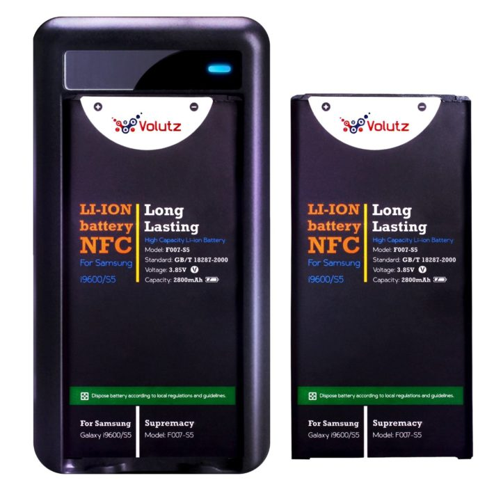 Deal: 2 Replacement Samsung Galaxy S5 Batteries (2800mAh) for $24.95