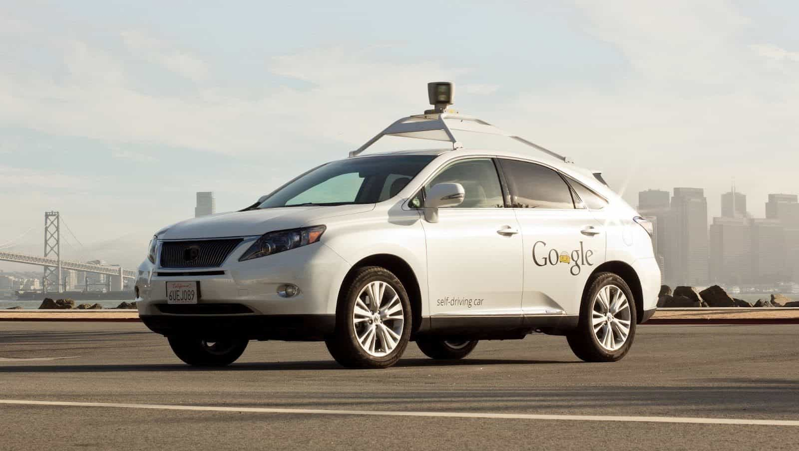 AH Google Self Driving Car
