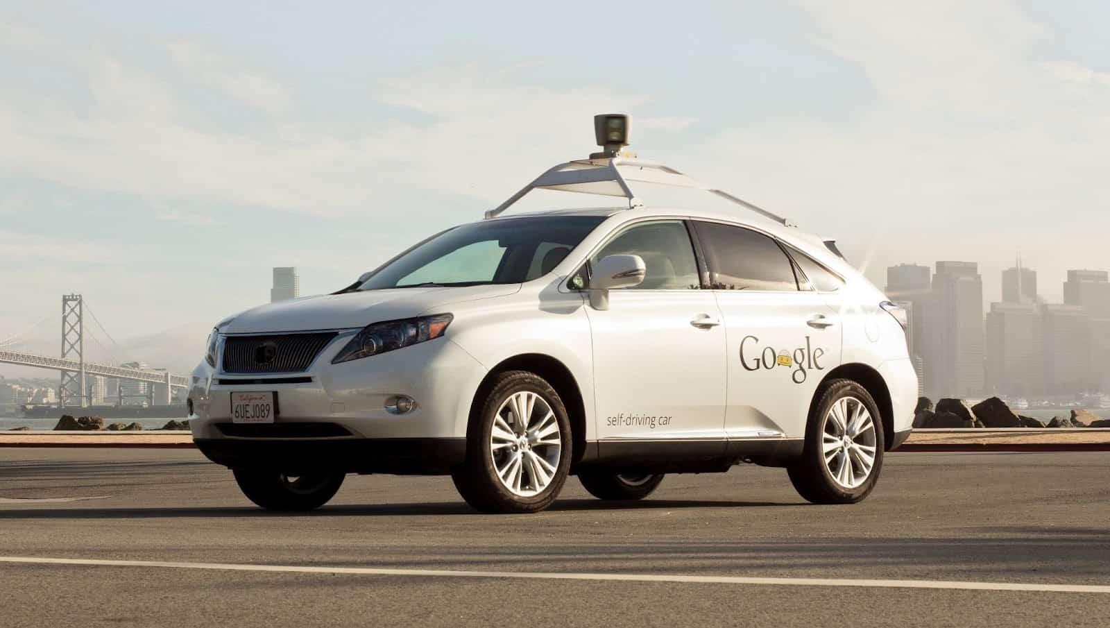 AH Google Self Driving Car
