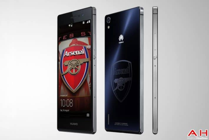 Huawei to Sell Special Arsenal Edition of Ascend P7