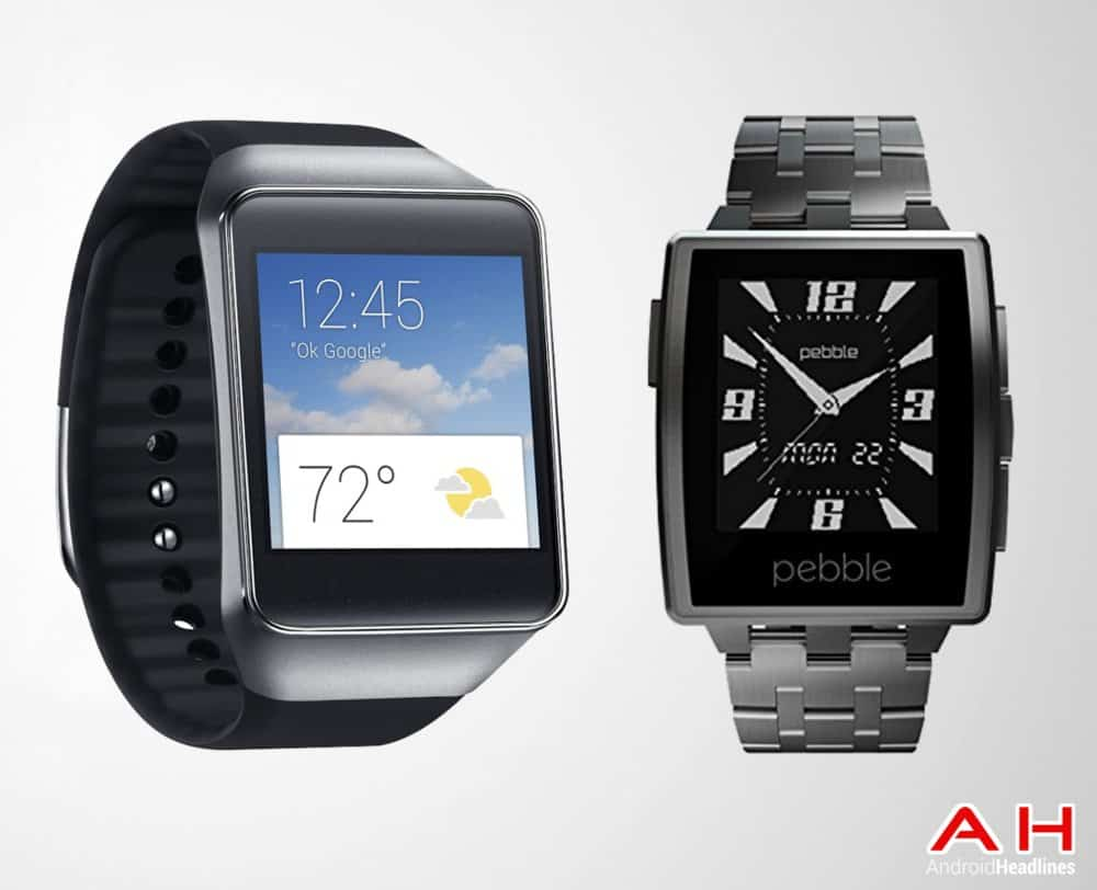AH Samsung Samsung Gear Live vs Pebble Steel