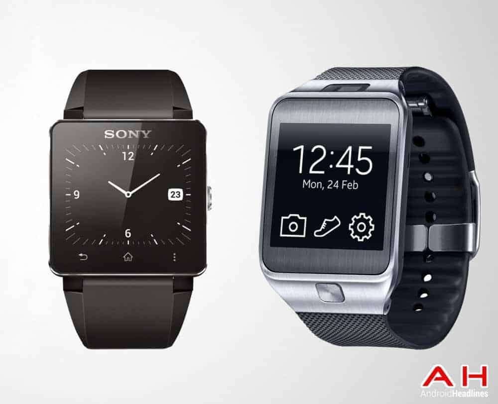 AH Sony Smartwatch 2 vs Samsung Gear 2