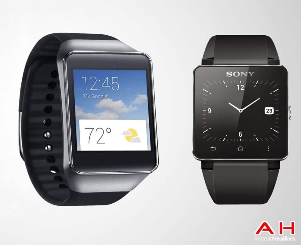 AH Sony Smartwatch 2 vs Samsung Gear Live
