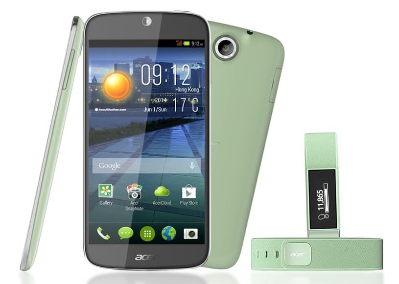 Acer Liquid Jade Green Leap