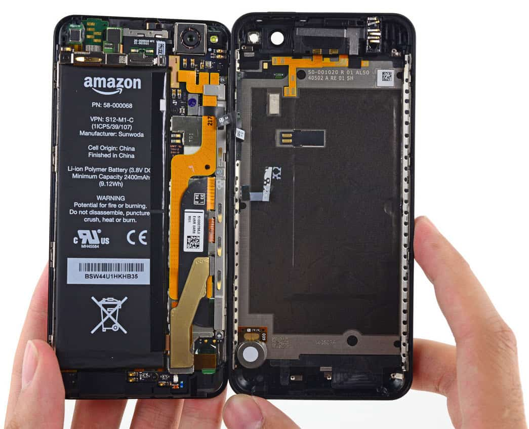 Amazon Fire Phone Insides