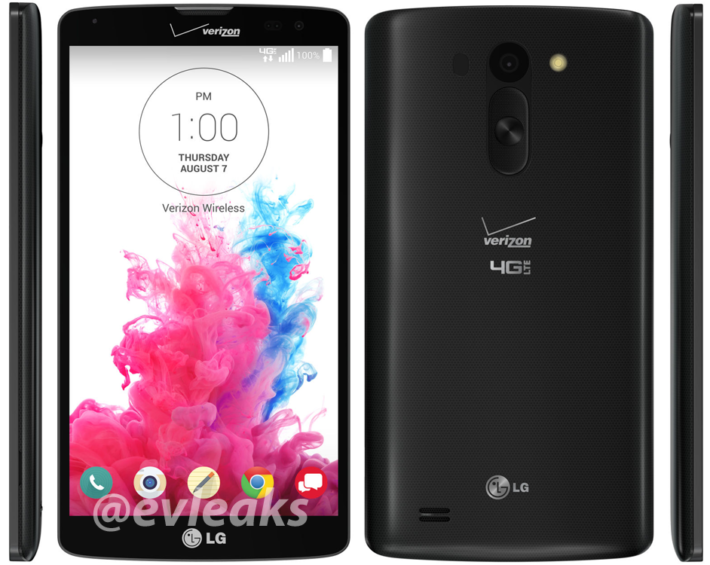 Leaked LG G Vista – Available on Verizon July 31 and a Few Specs Revealed