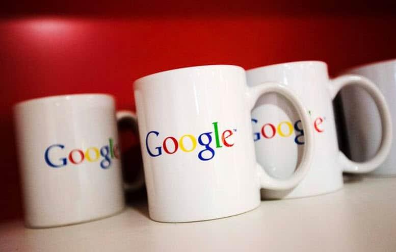 Google Coffee Cups