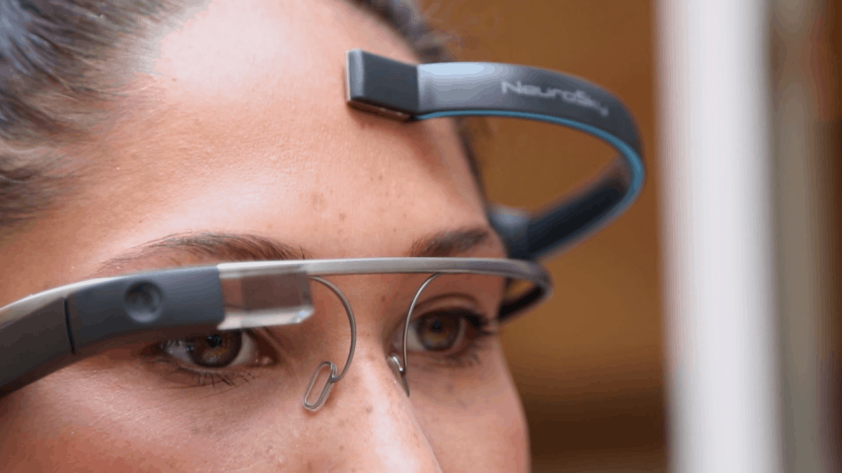 Use Your Mind to Control Google Glass
