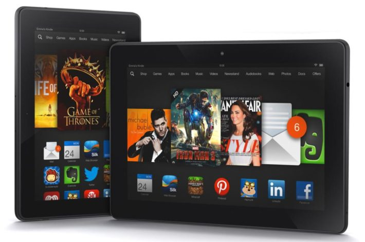Amazon Kindle Fire HDX With Snapdragon 805 Inside?