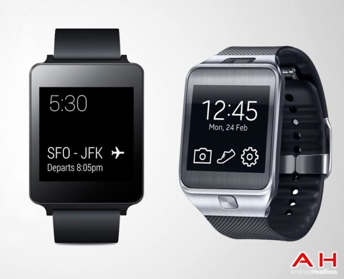 Smartwatch Comparison: LG G Watch vs Samsung Gear 2