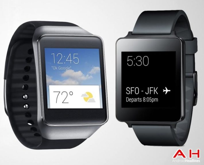 Android SmartWatch Comparisons: LG G Watch vs Samsung Gear Live