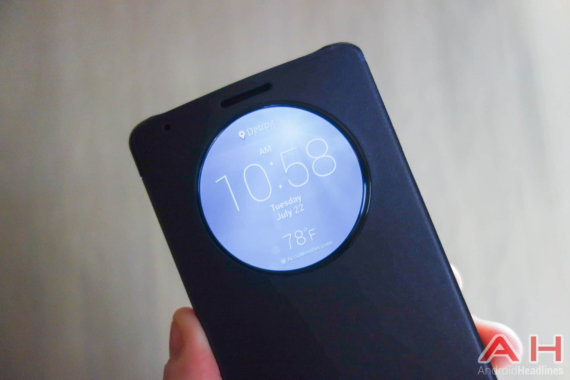 Android How To: Change the Clock Face on LG's Quick Circle Case
