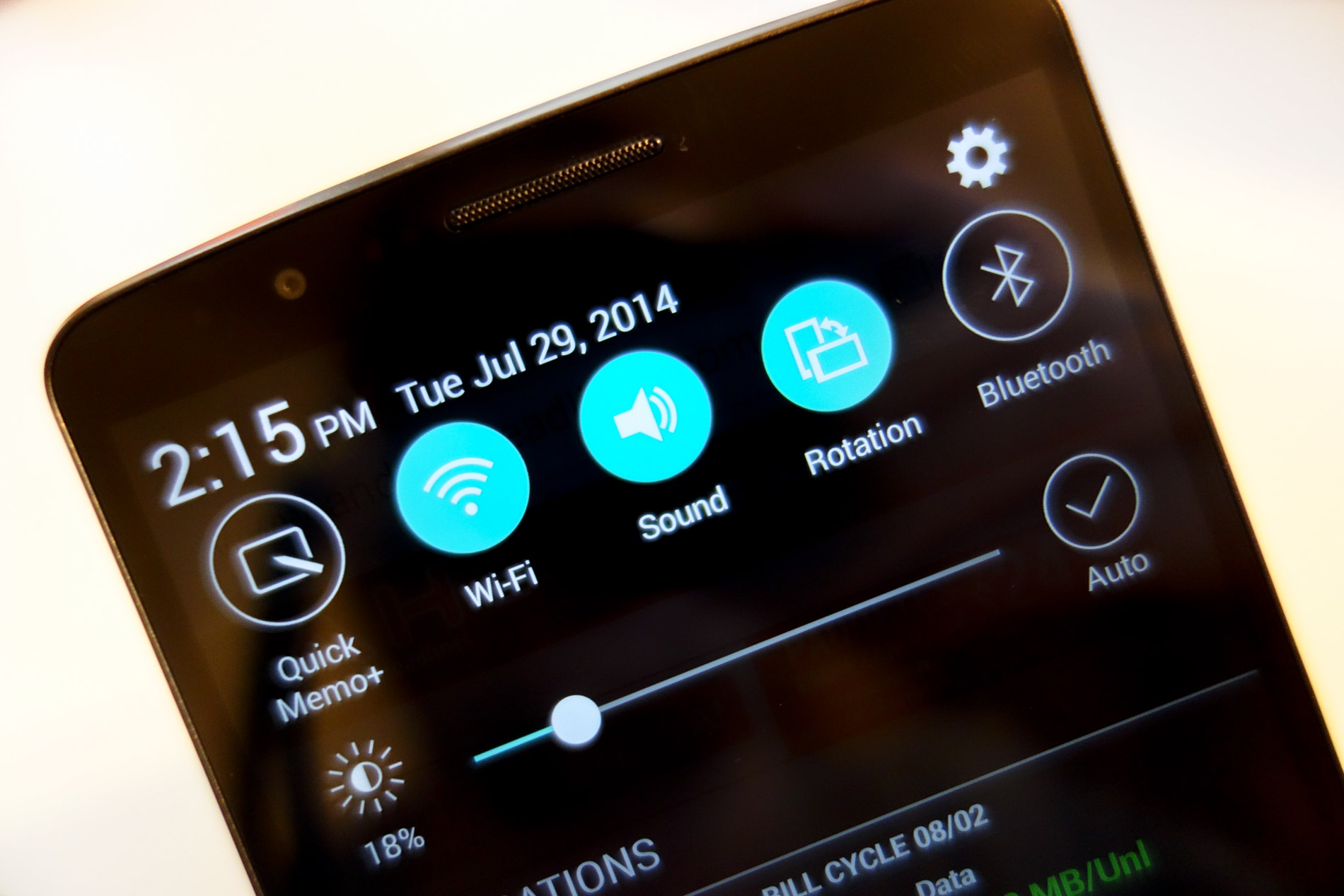 Android How To: Remove Volume and Brightness Sliders on the LG G3