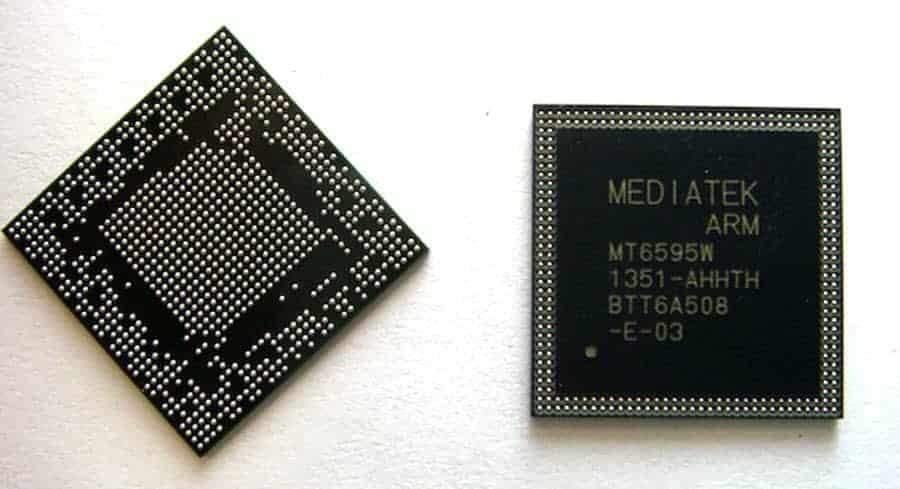 MediaTek MT6595W Octa-Core Chip